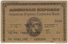 American Express cards AG7