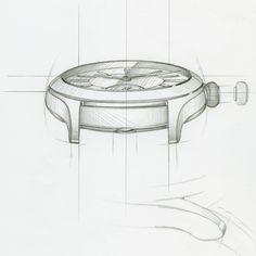 Sketches for Laurent Ferrier Catalog