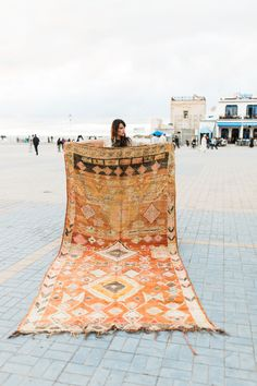 <p>We came across these amazing rugs from our friends at Honestly WTF. The rugs, from Semikah Textiles, weave together bright colors and intricate patterns which work well together to brighten up any