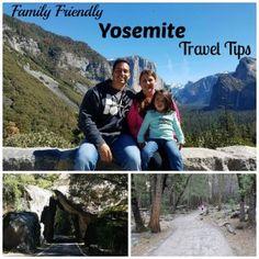 Family Friendly Yosemite Travel Tips - Military Spouse Living