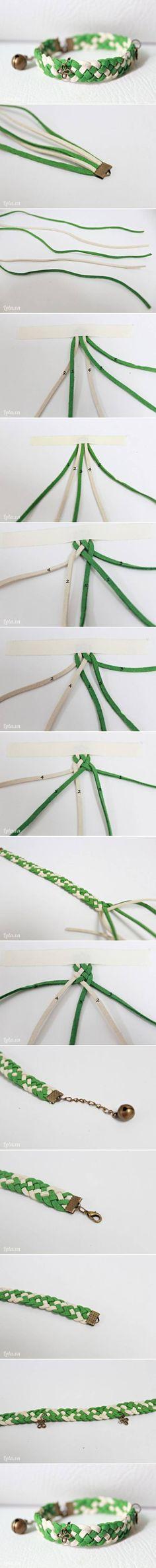 DIY Nice Spring Wristband DIY Nice Spring Wristband