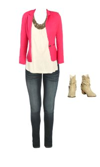 WetSeal.com Runway Outfit:  dolled up by Trendy.Geek. Outfit Price $79.47