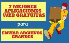 Enviar archivos grandes sin complicaciones, registros y gratis. Estos son las 7 mejores aplicaciones web para transferir archivos de gran tamaño.