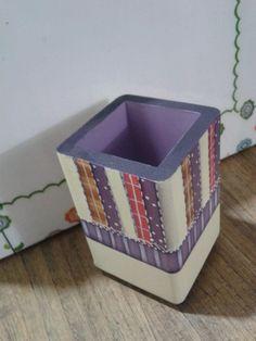 caja para colores.