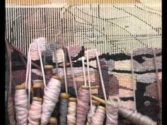 Making A Tapastry: A nine-month process condensed to 10 minutes. Video + audio by Margit Rudy + Scott Noben. (I am a hand weaver, and I have just gotten access to a large tapestry loom for the first time. Now instead of being intimidated I am excited! This video really caught the very mindful 'timeless time' of weaving. (As well as the utter satisfaction of any OCD tendencies the weaver really should have!)  ~RB)