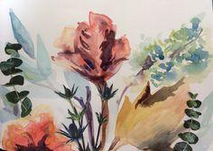 Watercolour detail