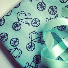 Yummy Bicycle Fabric