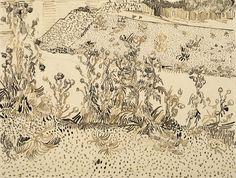 Thistles by the Roadside - Van Gogh Museum
