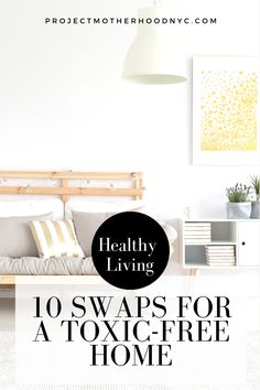 If you're looking to live a more toxic free lifestyle, these simple swaps in your household will make a big impact. #healthylifestyle #toxicfree #toxicfreehome