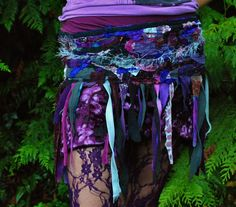 """Up-cycled """"tattered tutu"""" by Intergalactic Apparel (really loving their stuff!). Another great idea for fabric remnants!"""