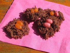 wren's edible bird tests using shredded wheat. Easter Treats, Wren, Nest, Eggs, Bird, Breakfast, Nest Box, Morning Coffee, Birds