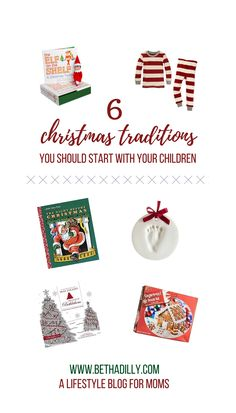 Really amazing ideas for Christmas traditions you can start with your kids!