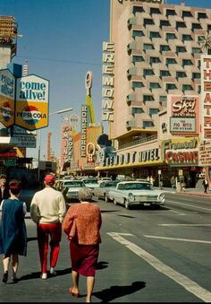 Street Scene, Las Vegas, Nevada, 1966