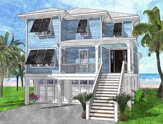43 best beach house plans images in 2019 beach house plans rh pinterest com