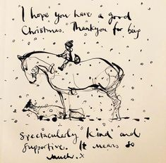 Charlie Mackesy, Charlie Horse, Horse Riding Quotes, Horse Quotes, Buddha Doodle, The Mole, Christmas Illustration, Horse Art, Some Words