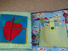Made by Me. Shared with you.: A Tour: Finished Quiet Book Number Four