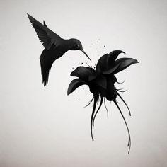 Idée tatouage colibri