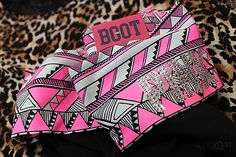 boot cut yoga pants with aztec pattern