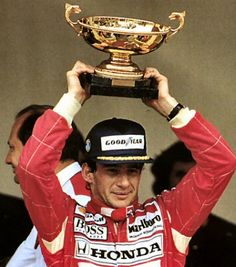 Piloto Ayrton Senna, McLaren Honda, Mónaco 1992