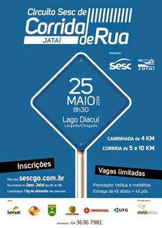 Jataí News: Convite circuito SESC de corrida de rua
