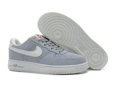 Nike Air Force 1 Basse Suede Loup Gris Voilet Chaussure pour Homme Basket Nike  Air Force