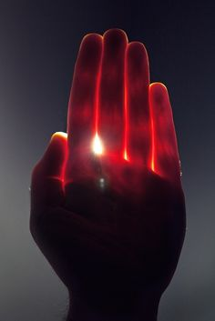 Hand of light...