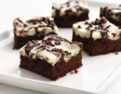 Points Plus-Fudge Marble Brownies Recipe