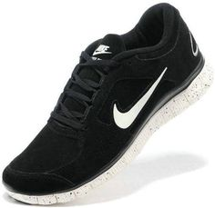sports shoes 79055 73f3a Mens Nike Free Run 3 Leather Black White Shoes Nike Free Run 3, Nike Free