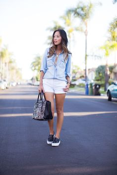 Aimee Song : Denim for Summer waysify