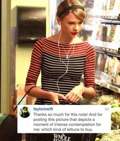 Taylor Swift Has Been Commenting on Her Fans' Instagram Accounts