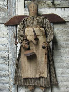 OLde 1800 Angel~http://1897houseprimitives.blogspot.com/