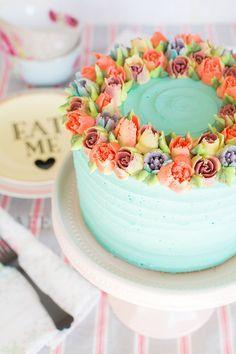 Boquillas rusas: cómo hacer flores de buttercream perfectas