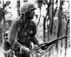 The American Soldier  (Rick Rescorla Pictured / shot by Peter Arnett)