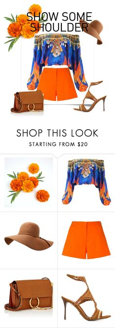 """"" by brittany-burke ❤ liked on Polyvore featuring MICHAEL Michael Kors, Chloé and Sergio Rossi"