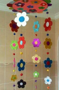 Foam Crafts, Diy And Crafts, Crafts For Kids, Arts And Crafts, Paper Crafts, Preschool Classroom Decor, Preschool Art Activities, Paper Flowers Craft, Flower Crafts