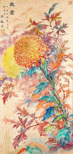 Chrysanthemum by Wang Chi-Yuan