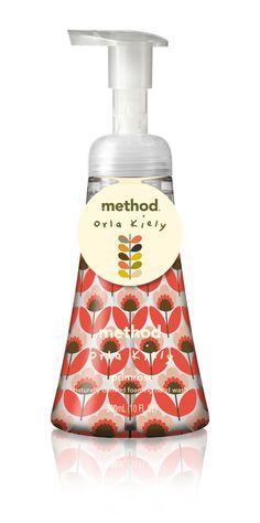 #houseofpackaging | Orla Kiely for Method Soaps!