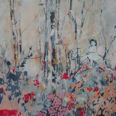 """Saatchi Online Artist: Hannah Lewis Davies; Acrylic, 2012, Painting """"When I was four #5"""""""