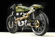 1973 CB450 CAFE BY HANGAR CYCLEWORKS