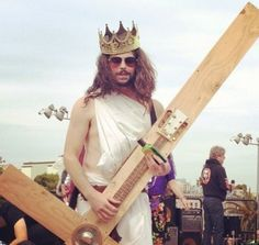 From San Francisco To Andrew Sullivan: Hunky Jesus 2012 Photos! Jesus Jokes, Andrew Sullivan, Sunday Photos, Who Is Jesus, Google Image Search, Easter Traditions, Music Film, Pretty Cool, Make Me Smile