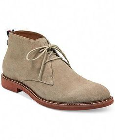 d6b68d323ac1 Image 1 of Tommy Hilfiger Men s Gervis Chukka Boots  mensworkfashion Suede  Chukka Boots