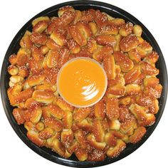 Pretzel and Cheese party platter