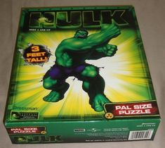 The Hulk Pal Size Puzzle 3 Ft Tall by Pressman Toy ** You can find out more details at the link of the image.