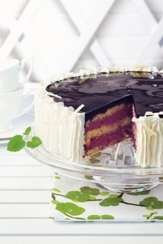 Delicious Desserts, Dessert Recipes, Purple Food, Yogurt Cake, Cooking Time, Vanilla Cake, Caramel, Cheesecake, Cheesecakes