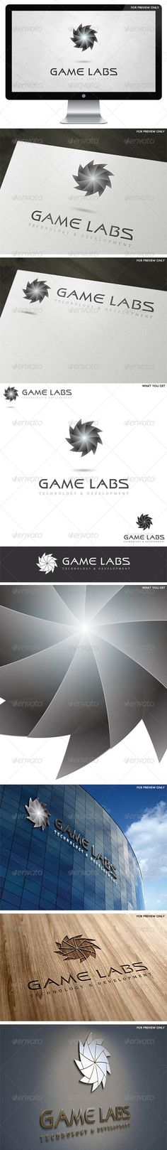 3D Game Labs Logo Template v2 - 3d Abstract  https://graphicriver.net/item/3d-game-labs-logo-template-v3/4601103?ref=231267