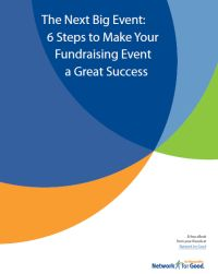 Tips for a successful fundraising event Great questions to ask yourself and guide to setting goals for budgets and more.