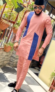 Latest African Wear For Men, Latest African Men Fashion, African Shirts For Men, Nigerian Men Fashion, African Dresses Men, African Clothing For Men, Jamal Lewis, Suit Fashion, Mens Fashion