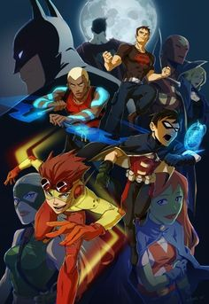 +dick grayson and conner   Young Justice Superhero Animated Anime Manga   Young Justice: Invasion ...