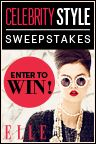 Celebrity Style Sweepstakes- i could just use the money to pay some bills due to being unemployed