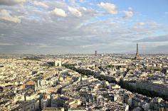 The best view of Paris. Really. With cocktails. More pics and info: https://teatimeinwonderland.co.uk/lang/en/2014/08/28/happy-hour-cocktails-en-hauteur-au-bar-la-vue-parishappy-hour-cocktails-with-a-view-at-bar-la-vue-paris